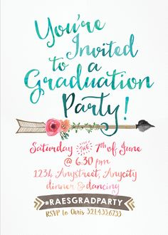3419 best graduation party invitations images in 2018 custom