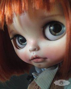 Vlastní Blythe panenka OOAK