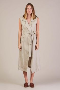 Amalfi Wrap Dress Tan