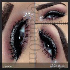 This makeup is amazing ♥★♥★♥★♥★♥ thank u Ana for share !!!!! #vegas_nay #vanitymakeup #dressyourface #theamazingworldofj #themakeupstory #auroramakeup #anastasiabeverlyhills #anubismakeup #bbloggers #makeup #makeupdolls #maya_mia_y #makeup_loooks33 #makeupbyyeya1 #melformakeup