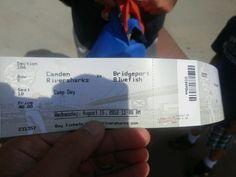 ticket in