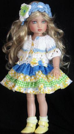 Helen Kish 12 inch Dolls Handmade Outfits.
