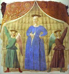 61. Matka Boska Brzemienna, della Francesca, Borgo San Sepolcro.JPG