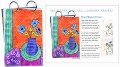 Matisse Art Journal Page