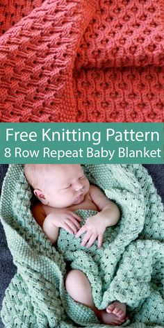 Free Knitting Pattern for 8 Row Repeat Hourglass Eyelet Baby Blanket - Stricken . Free Knitting Pattern for 8 Row Repeat Hourglass Eyelet Baby Blanket – Stricken ist so einfach wi Free Baby Blanket Patterns, Crochet Blanket Patterns, Baby Blanket Crochet, Knitting Patterns Free, Free Knitting, Crochet Baby, Free Pattern, Easy Knit Blanket, Baby Blanket Knitting Pattern Free