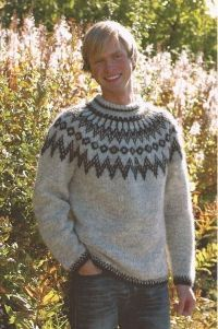 - Icelandic Hringur (Ring) Mens Wool Sweater - Tailor Made - Nordic Store Icelandic Wool Sweaters - 1 Knitting Kits, Knitting Designs, Hand Knitting, Pullover Design, Sweater Design, Icelandic Sweaters, Wool Sweaters, Norwegian Clothing, Norwegian Knitting