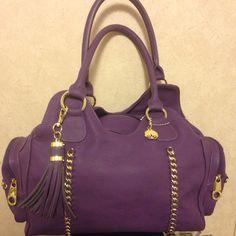 I love my purple bag!!!