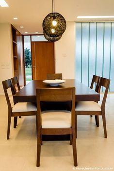 #Comedor moderno y minimalista