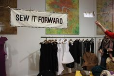 The Sew It Forward launch event featured on Style and Then Some
