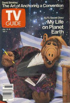 TV Guide, Aug. 13, 1988: ALF