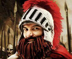 Bearded Barbarian Knight Hat http://www.thisiswhyimbroke.com/bearded-barbarian-knight-hat