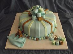 Baby Shower Cake/ Boy