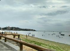 Fim de tarde na praia da Ribeira - Salvador - Bahia