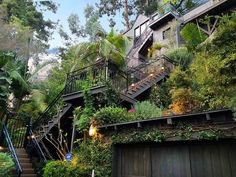 Cozy one-bedroom treehouse in the Hollywood Hills asks $1.3 million.....Get a good cardio workout everyday.