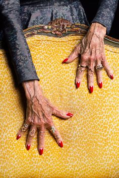 """Karen Walker worked with Ari Seth Cohen and the ladies of Advanced Style for her latest """"Magic Hands"""" jewellery campaign."""
