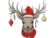 Imagen de art, christmas, and reindeer