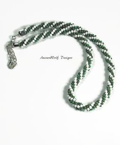 This Spiral Kumihimo Necklace is a stunning piece you will love to wear! Kumihimo is an ancient form of braiding from Japan.