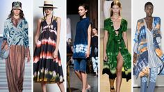 Tie Dye Is All Over the Runways at New York Fashion Week. It never really goes away.