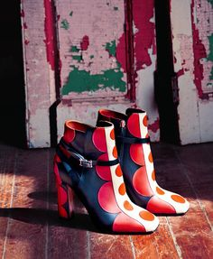 """""""Runway style at your feet! This incredible Valentino boot is guaranteed to make magic in your wardrobe."""" - NM fashion director Ken Downing"""