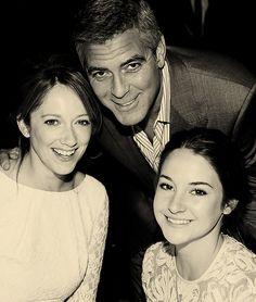 Actors Judy Greer George Clooney and Shailene Woodley attend the Annual AFI Awards held at the Four Seasons Hotel Los Angeles at Beverly Hills. Star Track, Half Man, Planet Of The Apes, Shailene Woodley, Four Seasons Hotel, George Clooney, Music Tv, Great Movies, Man Crush