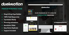 Duelmotion - Responsive Onepage Parallax Theme by ab-themes Duelmotion is a modern WordPress theme made to look awesome on any size of screen. Built with the latest technologies like HTML5,