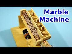 Simple Marble Machine with Archimedes Screw Wooden Marble Run, Marble Toys, Woodworking Toys, Woodworking Classes, Archimedes' Screw, Rolling Ball Sculpture, Marble Tracks, Marble Machine, Force And Motion