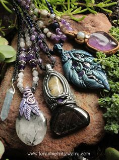 ~ handcrafted magic jewelry ~http://www.forestspiritjewelry.com/