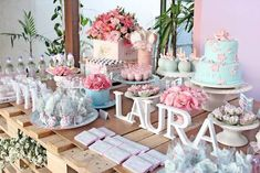 Pastel Garden themed party