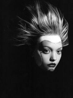 Model: Gemma Ward - Photography: Mario Sorrenti