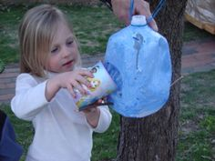 Not Your Average Mom: Easy to make milk jug bird feeders