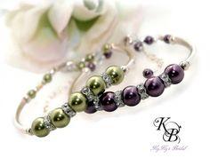 Bridesmaid Bracelet, Bridal Bracelet, Sterling Silver Bracelet, Sterling Jewelry, Wedding Jewelry, Bridesmaid Gift, Bridal Shower Giftx | KyKy's Bridal, Handmade Bridal Jewelry, Wedding Jewelry