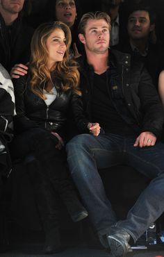 Pin for Later: Chris Hemsworth and Elsa Pataky Look So in Love It Hurts February 2011 Chris Hemsworth Thor, Chris Hemsworth Family, Hemsworth Brothers, Elsa Pataky, Hot Actors, Actors & Actresses, Snowwhite And The Huntsman, Marvel Actors, Jason Statham