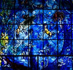 Marc Chagall Stained Glass Windows | Stained Glass Window, by Marc Chagall by Luke Redmond in List of ..