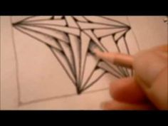 How to draw tanglepattern Betweed