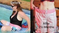 My Dukan Diet Results.  Before pictures, after 12kg lost pictures.