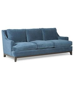 "Camila Fabric Sofa, 84""W x 39""D x 34""H - Couches & Sofas - furniture - Macy's"