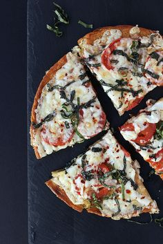 How-to Make Chickpea Flour and Socca Pizza // @tastyyummies // www.tasty-yummies.com