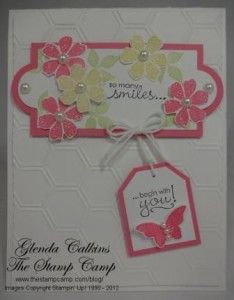 Birthday - uses Stampin Up products