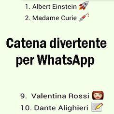Catene e frasi divertenti da mandare via WhatsApp