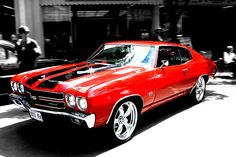 chevy chevelle ss, I would have a dress that would match this car too!