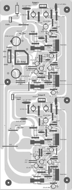 37 Best Layout design images in 2017 | Audio amplifier, Layout