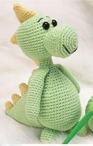 Dinosaurus   Vlnika - Příze, pletení, háčkování Diy And Crafts, Dinosaur Stuffed Animal, Toys, Animals, Baby, Ideas, Amigurumi, Activity Toys, Animales