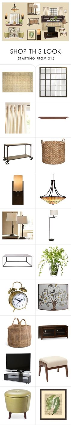 1914 Home by scarlet-designs on Polyvore featuring interior, interiors, interior design, home, home decor, interior decorating, Flamant, Dot & Bo, Pottery Barn and Kichler