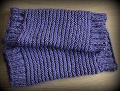 apprendre a tricoter des guetres