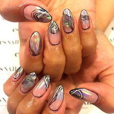 42 Best La Nails Images On Pinterest Fingernail Designs La Nails