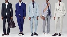 Crisp Summer Suits   Five smart ways to stay cool when the weather's not