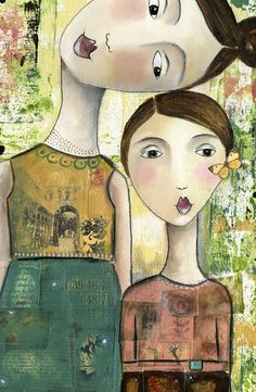kelly rae roberts clearance | You And Me - Card by Mixed Media Artist Kelly Rae Roberts