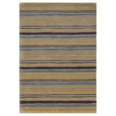 Hand-tufted Ashwood/ Liquorice Wool Rug (8' x 10') | Overstock.com Shopping - The Best Deals on 7x9 - 10x14 Rugs
