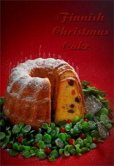 Финский рождественский кекс