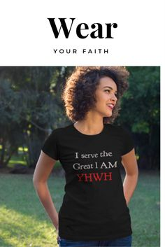 Made in the USA these faith declaring tee shirts & hoodies are sure to be a hit whether they are for your self or given as a gift. Lots of style options, colors & sizes